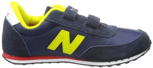 New Balance  Ke410 M (Youth),  Sneaker unisex bambino Blu (Bleu (Noy Navy/Yellow))