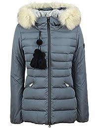 Peuterey - Donna TURMALET 02 Fur 368 Grigio Piumino Trapuntato Pelliccia -  27850 848c8e5080c0