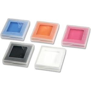 Speedlink Spielehüllen für Nintendo Handheld (5 Stück) schwarz, orange, pink, blau, weiß