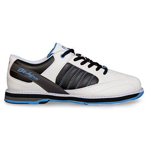 KR Strikeforce Ladies Mist Bowling Shoes White/black/blue Size 8.5
