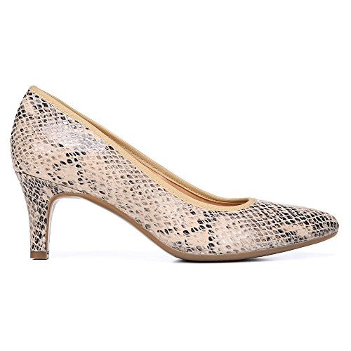 Naturalizer Oath Toile Talons Taupe-Snake