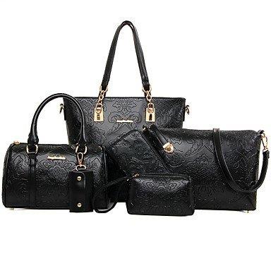 La donna pu formale / Esterni / Ufficio & Carriera Set borsa,blu Black