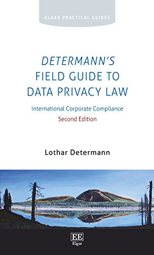 Determann'S Field Guide to Data Privacy Law Cover Image