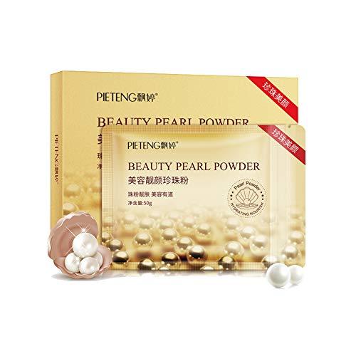 Ofanyia Poudre de Perles Hydratante Nourrissante Soins Peau Eclaircissante Poudre de Perles 50g