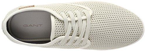 Gant Viktor, Sneaker Uomo Weiß (Bone Beige)