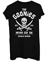 MUSH T-Shirt The Goonies Never Say Die 80'S - Film by Dress Your Style