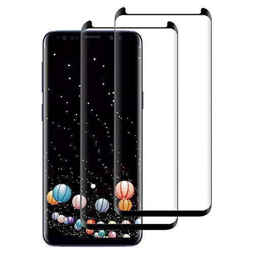 FayTun Panzerglas Schutzfolie für Samsung Galaxy S9, [2 stück] HD Ultra-klar Upgrade Displayschutzfolie, 9H Härte, Anti-Fingerabdruck, Anti-Kratzer, Blasenfreie, Displayschutz für Galaxy S9