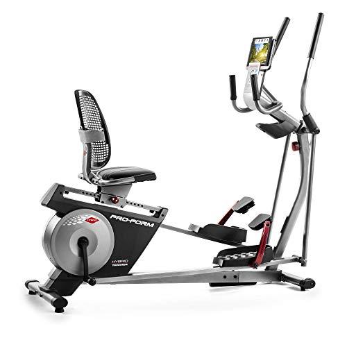 Proform Unisex's Hybrid Trainer XT Elliptical/Bike, Black Grey, Adults