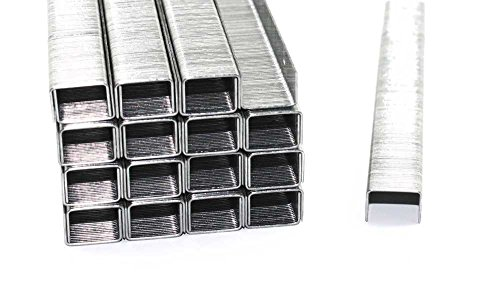 5000 graffette, tipo 53, lunghezza: 10mm, larghezza: 11,4 mm, zincate