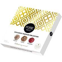 Trufas de Chocolate 100% Belga 9 trufas 74gr. Pure Chocolate