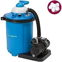 Miganeo® Sandfilteranlage blau Speed Clean 9500 inkl. Filterballs 401001
