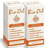 Bio Oil Skin Care Scars Stretch Marks Uneven Tone Ageing Dry Face Body - 200ml - PACK OF 2 immagine