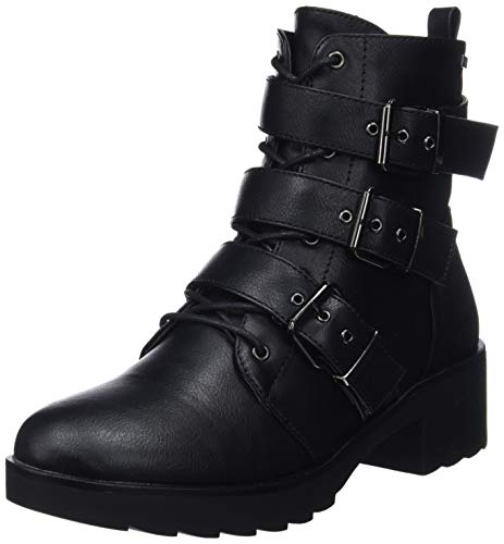 MTNG Collection 57444, Botines para Mujer, (Petrolatum Negro C28121), 39 EU