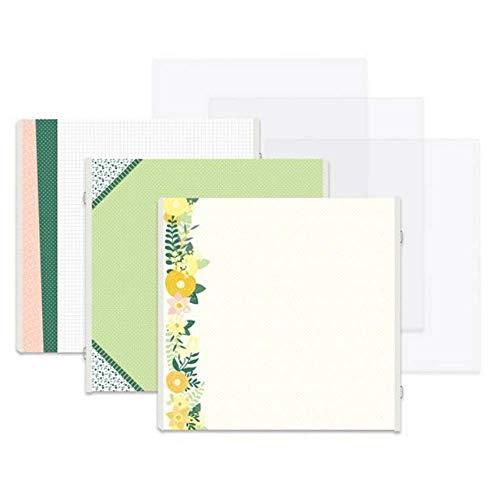 Creative Memories Easy Sunshine Butterfly Fast2Fab 16 Seiten, doppelseitig, dekoriert, Nachfüllblätter -