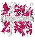 Graffiti Flagge Dänemark, Designfolie Sticker Skin Aufkleber Schutzfolie mit Farbenfrohem Design für Playstation 4 CUH 1200