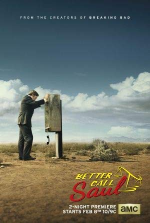 BETTER CALL SAUL - US Imported Movie Wall Poster Print - 30CM X 43CM Breaking Bad prequel (Better Poster Call Saul)