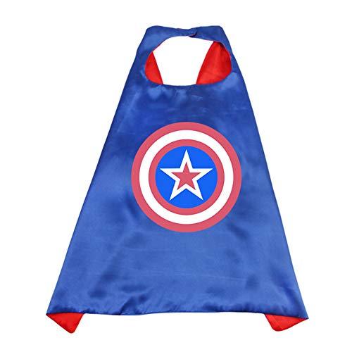 RosewineC Superhelden-Kostüme für Kinder, Jungen, Mädchen, Partyzubehör,
