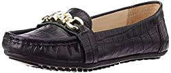 Carlton London Womens Leila Black Loafers and Mocassins - 4 UK (CLL-3179)