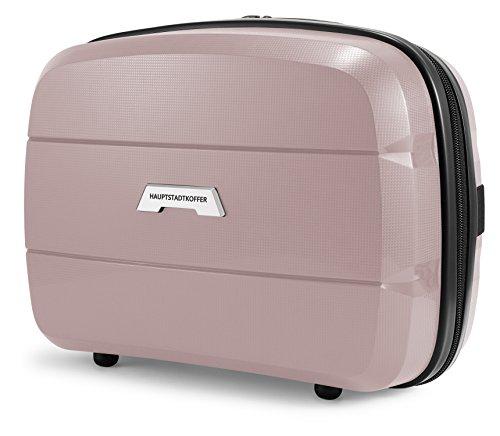HAUPTSTADTKOFFER - Britz - Beautycase Kulturtasche Kosmetikkoffer, 23 cm, 12 Liter, Altrosa