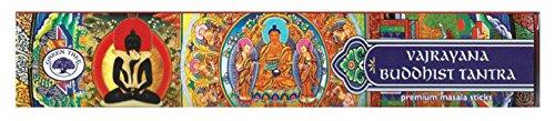 Find Something Different Etwas Finden Verschiedene grün Baum Vajrayana Buddhistische Tantra Räucherstäbchen, Bambus, Mehrfarbig