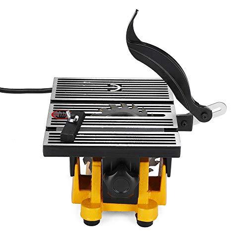 """Mini Tischkreissäge HaroldDol Schneidwerkzeug Kreissäge Tischsäge Elektrische Säge Cutting für DIY Holzbearbeitung Stein Metall (Sägeblattdurchmesser: 100mm / 4\"""")"""