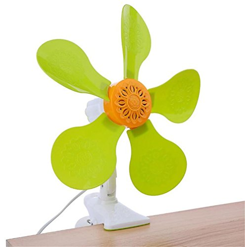 NWYJR Fan/Ventilateurs de bureau Folder fan large énergie éolienne petit ventilateur bureau domestique mini bureau étudiant dortoir chevet fan, A