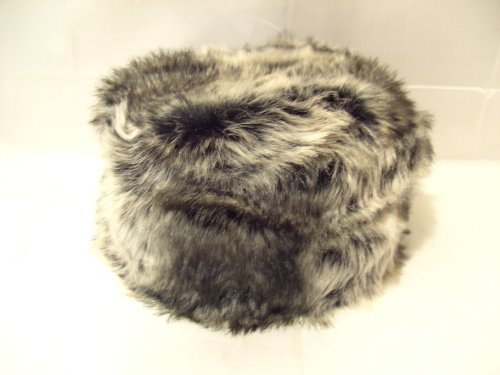 Ladies Faux Fur Russian Style Pill Box Hat New