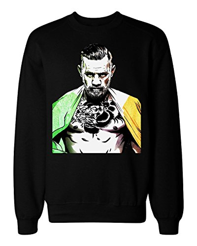 The Notorious Irish Flag Men's Herren Women's Damen Unisex Sweatshirt Medium (Flag Sweatshirt Irish)