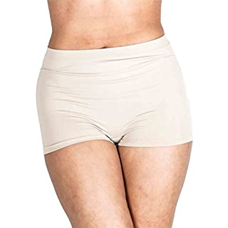 Love My Fashions® Womens Underwear Plain High Waist Ladies Seamless Stretch Boxer Shorts S M L XL XXL Plus Size