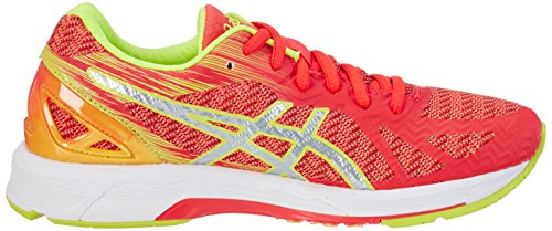 Asics Damen Gel-Ds Trainer 22 Nc Lauflernschuhe Sneakers Pink (Diva Pink / Silver / Safety Yellow)