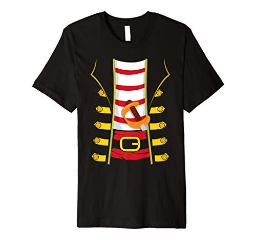 Lustiges Piraten Kostüm T-Shirt für Halloween