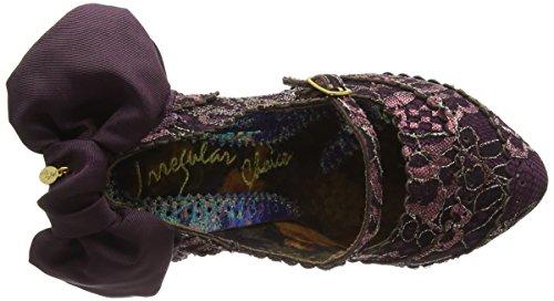 Irregular Choice Pick A Lilly, Escarpins femme Violet - Purple (Bordo)