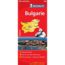 Carte NATIONAL Bulgarie