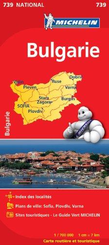 Descargar Libro Carte NATIONAL Bulgarie de Collectif Michelin
