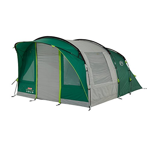 41Ig KlJUUL. SS500  - Coleman Rocky Mountain 5 Plus Family Tent, 5 Man Tent, Blocks up to 99 Percent of Daylight, 2 Bedroom Family Tent, 100…