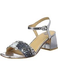Amazon Mujer Para 40 esSandalias Plateadas Zapatos yvYb7gmIf6