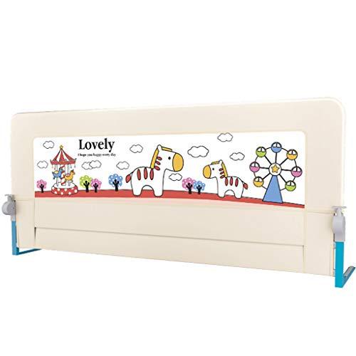 Barrières de lit Extra-Haute pour Enfants en Bas âge Pliable pour Enfants Barrière de sécurité pour lit de bébé (Taille : Style-3)