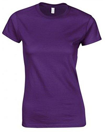 GILDAN -T-shirt  Donna Viola