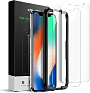UGREEN 2 Pack iPhone 11 Pro/X/Xs Screen Protector 3D Touch New iPhone 11 Pro, X, Xs Screen Tempered Glass for