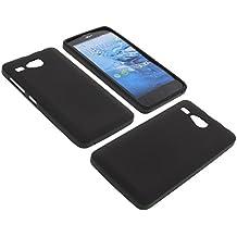 Funda para Acer Liquid Z520 Funda protectora de goma TPU para móvil negra