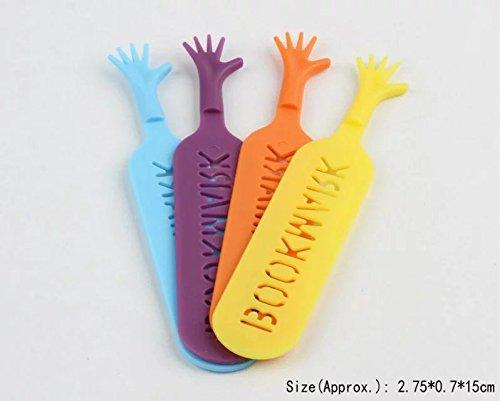 Lustiges Lesezeichen Hilf mir, Verschiedene Farben, 4pcs