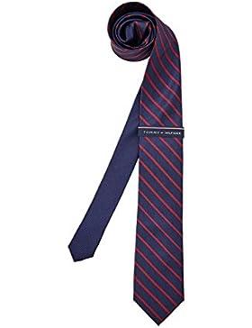 Tommy Hilfiger Silk Tie, Herren Krawatte, 100% Silk
