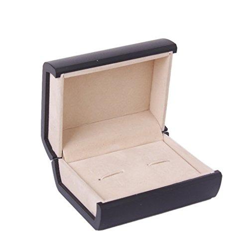 tfxwerws Manschettenknöpfe Aufbewahrung Geschenk Präsent Box Jewelry Display Fall