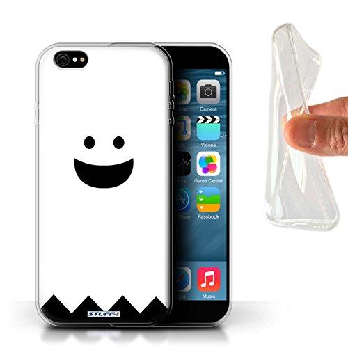 Stuff4® Gel TPU Hülle/Hülle für Apple iPhone 6S+/Plus/Geist Muster/Halloween Zeichen ()