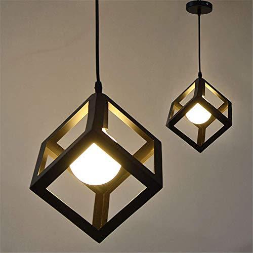 Métal Retro Suspensions Luminaires E27 Industrielle Vintage Plafonniers Lustre Plafond Suspensions Luminaire