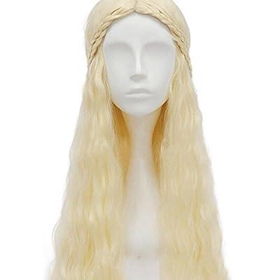 thematys Khaleesi Daenerys Targaryen Wig - Game of Thrones Adult Costume - Perfect for Carnival & Cosplay - Women