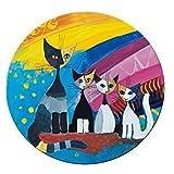'' Fridolin, Specchio da Borsetta 7,6cm Rosina Wachtmeister under the Rainbow in metallo