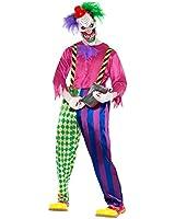 Smiffy's Kolorful Killer Clown Costume