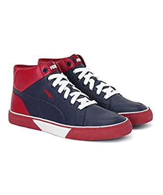 Puma Men's Crush Idp Peacoat-Rhubarb Sneakers-6 UK (39 EU) (7 US) (37122503_6)