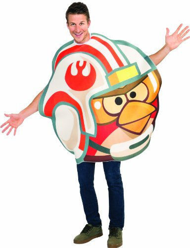Angry Birds Kostüm Luke Adult Pilot